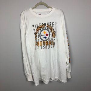 Pittsburg Steelers Football Long Sleeve T Shirt
